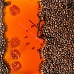 Поделки из кофейных зерен для кухонного интерьера