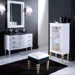 Современные шкафчики для ванной комнаты — конструкция и виды