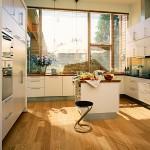 Какое напольное покрытие идеально подходит для кухни