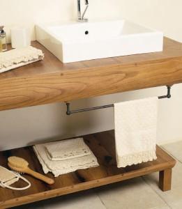 Современная столешница для ванной комнаты