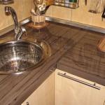 Столешницы для кухни из ДСП — конструкция и особенности