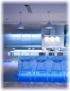 Светодиодная подсветка для кухни — виды и особенности