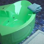 Угловая ванная — преимущества, виды, особенности