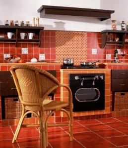 Плитка напольная для кухни: только керамика?