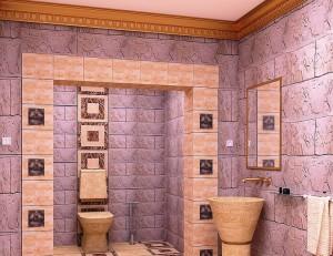 Плитка в ванную комнату: красота и качество