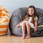 Модное кресло-мешок своими руками для детской и гостиной
