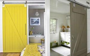 Двери из каких материалов выбирать для ванной и туалета